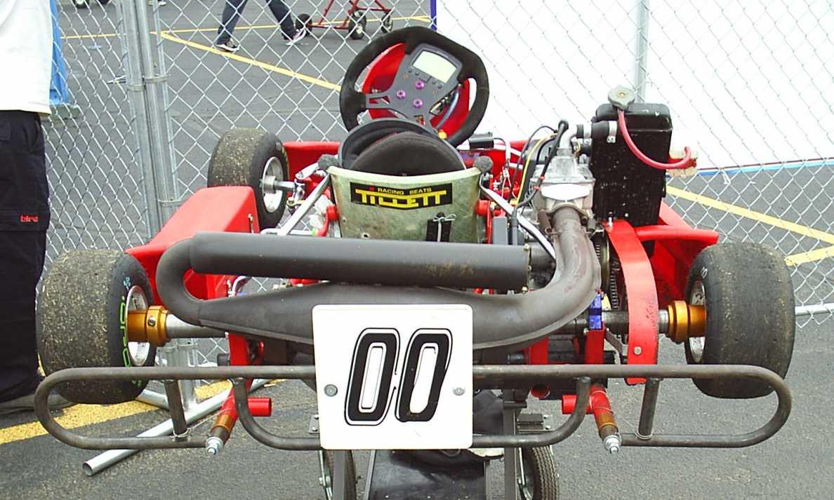 Bergfelt's Bumper Jr Max kart