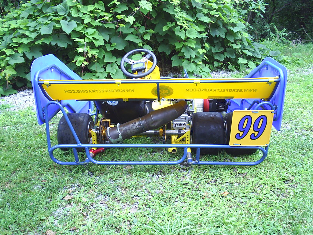 Dually Kart Rear View