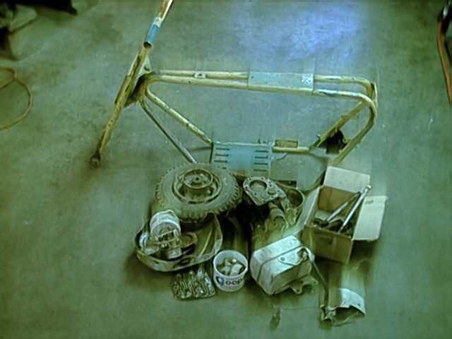 minibike before