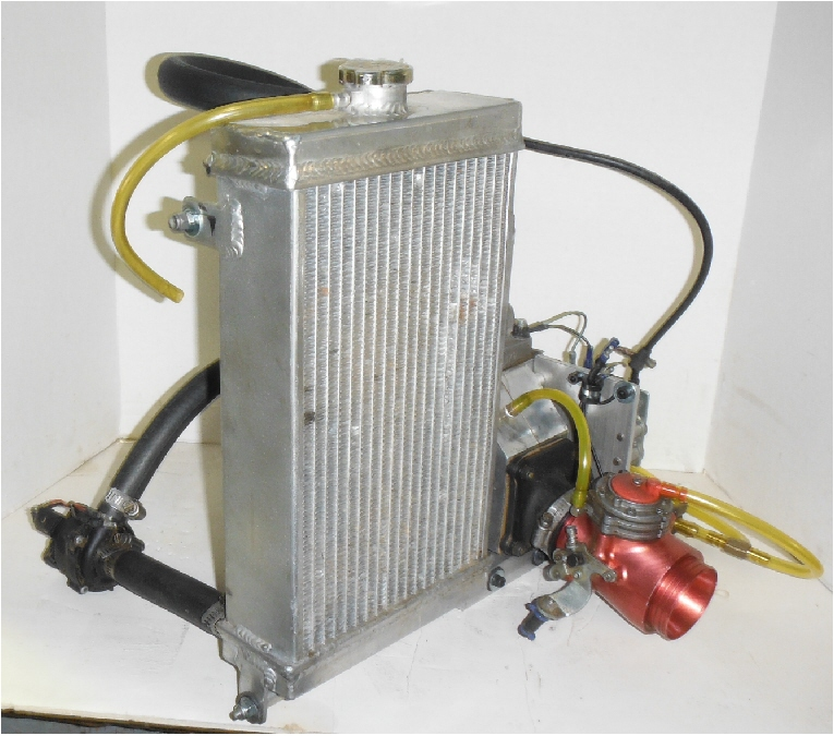 Vindicator with Radiator